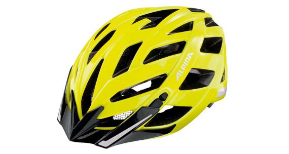 Alpina Panoma City hjelm gul/farverig